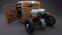 Patmobil 3D by Tomasz Jurczyk